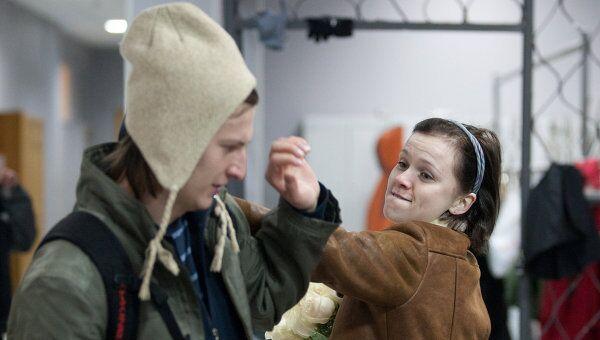 Наталья Терешкова на съемочной площадке телесериала Школа режиссера Валерии Гай Германики