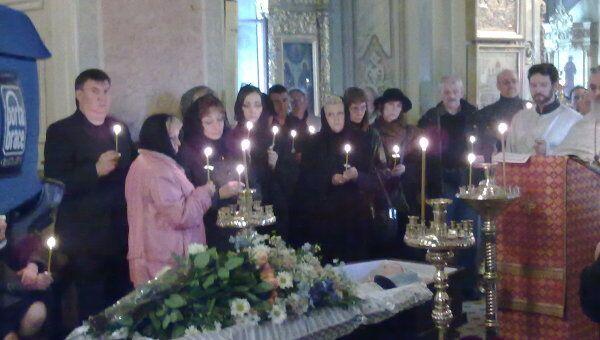 Церемония прощания с Лиозновой в Москве