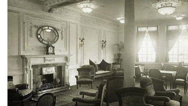 Читальный зал Титаника