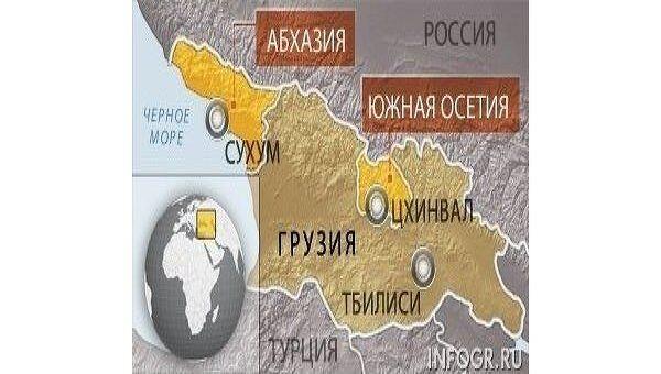 Карта Закавказья