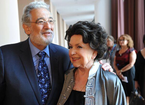 Пресс-конференция, посвященная международному конкурсу оперного искусства Operalia