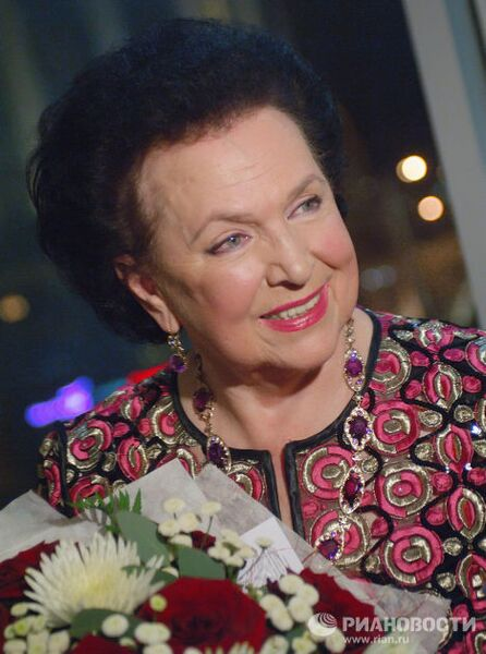 Оперная певица Галина Вишневская