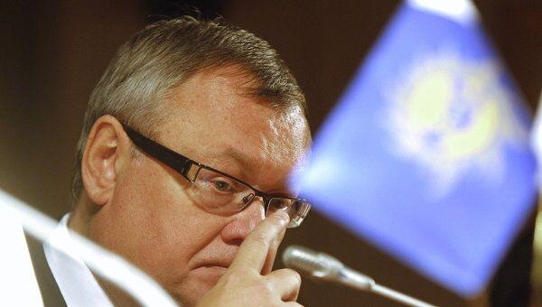 Председатель правления ОАО Банк ВТБ Андрей Костин, архивное фото