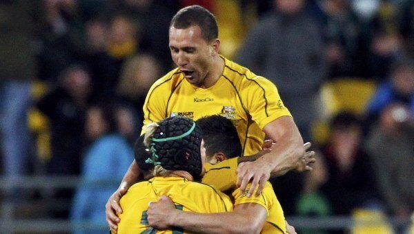 Регбисты сборной Австралии
