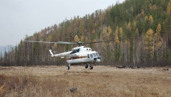Вертолет Ми-8 МЧС РФ. Архив