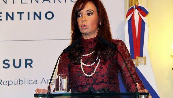 Президент Аргентины Кристина Киршнер, архивное фото
