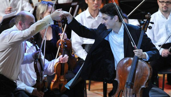 Гала-концерт лауреатов XIV Международного конкурса им. П.И. Чайковского в Москве. Архивное фото