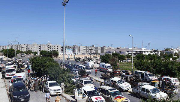 Ситуация в ливийском городе Сирт