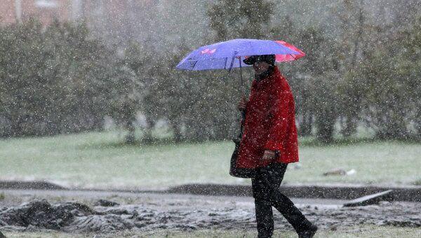Снег может пройти на этой неделе в Москве