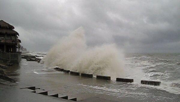 Порты на побережье Мексиканского залива закрыты из-за шторма в Мексике
