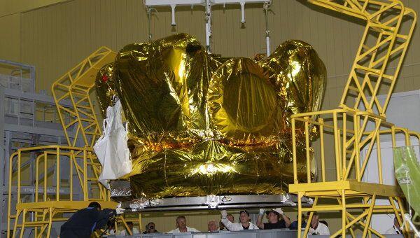 На космодроме Байконур продолжаются работы по программе АМС Фобос-Грунт