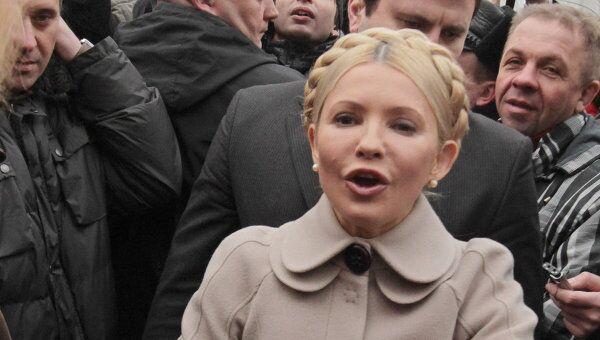 Ю.Тимошенко прибыла на допрос в Генеральную прокуратуру Украины