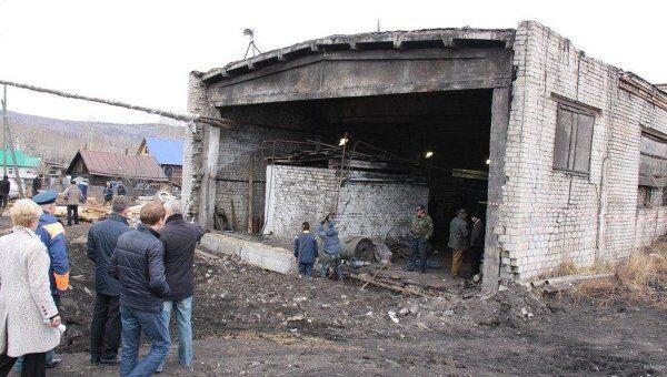 Котельная в Сковородино после землетрясения