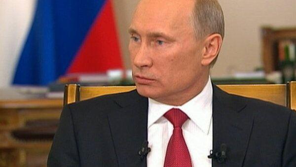 Я никогда не стремился к должности президента - Путин