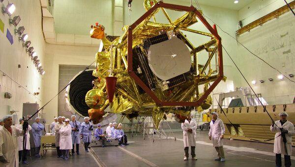 На Байконуре начались работы с межпланетная станцией станцией Фобос-Грунт