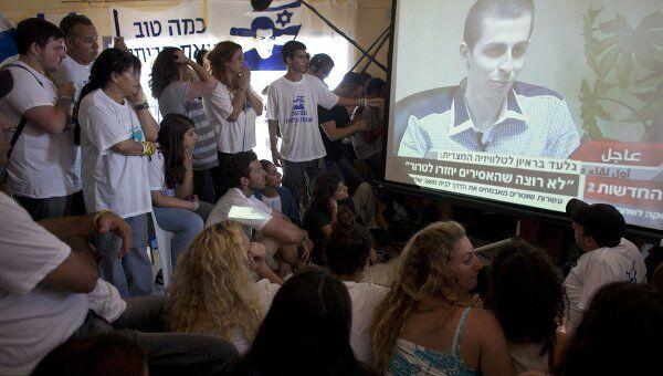 Интервью Гилада Шалита после освобождения
