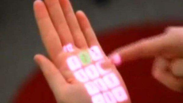 Ученые показали, как превратить ладонь в сенсорный экран