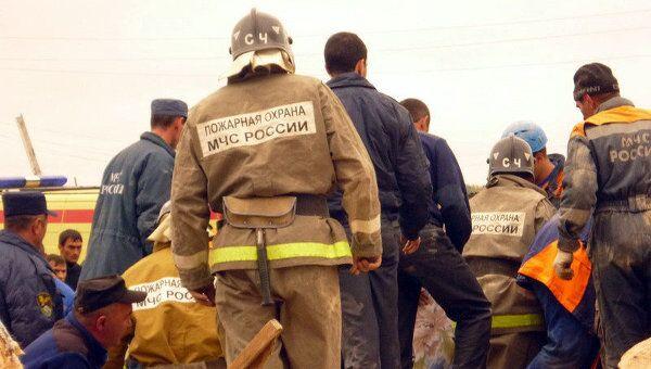 Последствия взрыва котельной в Нальчике