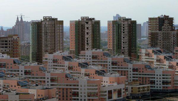Строительство жилого комлекса Гранд-Парк в районе Ходынского поля