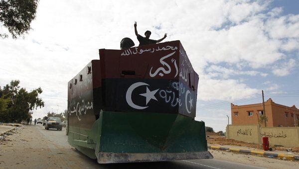 Силы ПНС Ливии в городе Сирт, 19 октября 2011 год