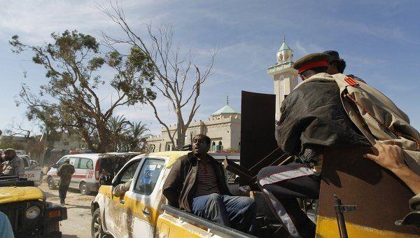 Силы ПНС Ливии в городе Сирт, 20 октября 2011 год