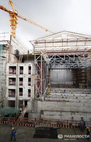 Реконструкция здания Большого театра