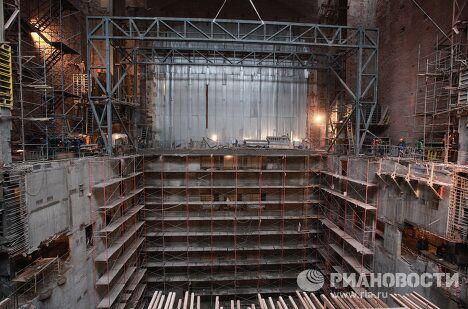 Работы по реконструкции и реставрации Большого театра