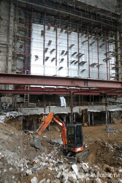 Реконструкция и реставрация основной сцены Большого театра