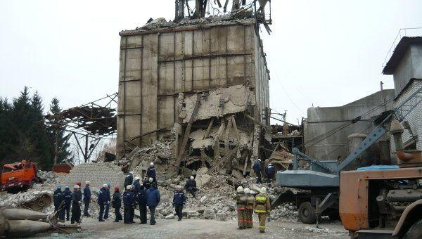 Взрыв на птицефабрике в Брянской области