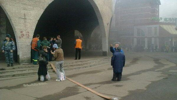 Пожар произошел в тоннеле Замоскворецкой линии московского метро
