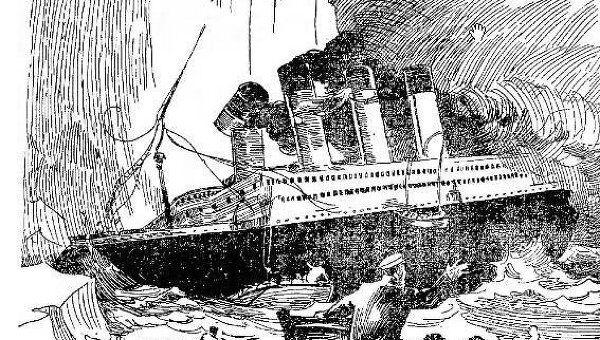Рисунок Титаника