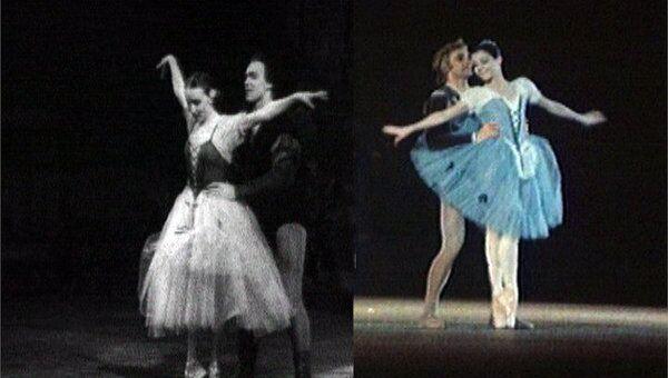 Фрагменты балета Жизель с участием звезд Большого театра