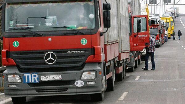 Водитель грузовой машины