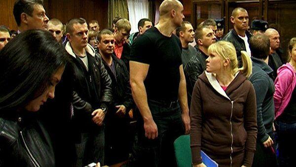 Друзья пострадавших аплодировали приговору по делу об убийстве Свиридова