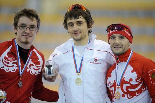 Михаил Кочнев, Денис Юсков и Андрей Бурляев (слева направо)