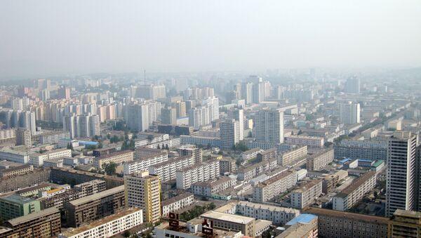 Вид на Пхеньян. Архив