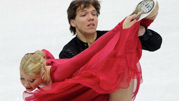 Екатерина Боброва и Дмитрий Соловьев (слева направо)