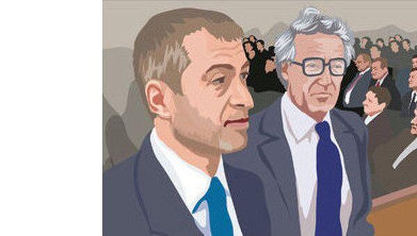Слушания по иску Березовского к Абрамовичу в лондонском суде