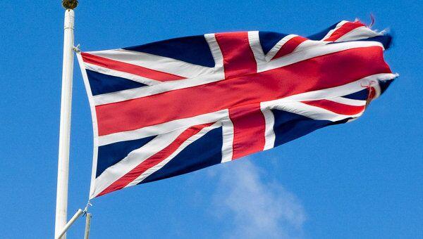 Флаг Великобритании , архивное фото
