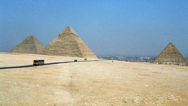 Новое здание Национального египетского музея находится в пригороде Каира у великих пирамид Гизы