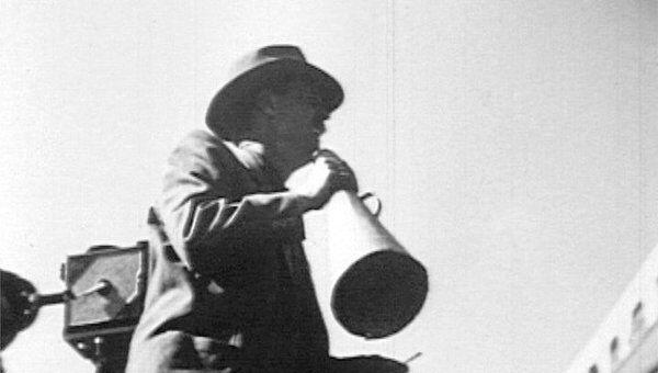 Режиссер Иван Пырьев во время съемок фильма Кубанские казаки. 1948 год