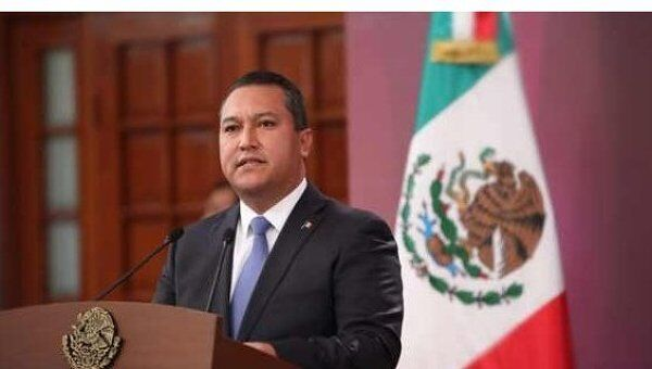 Глава МВД Мексики Хосе Франсиско Блейк Мора