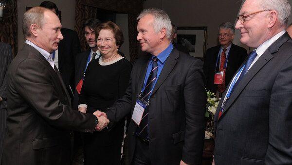 В. Путин встретился с членами дискуссионного клуба Валдай
