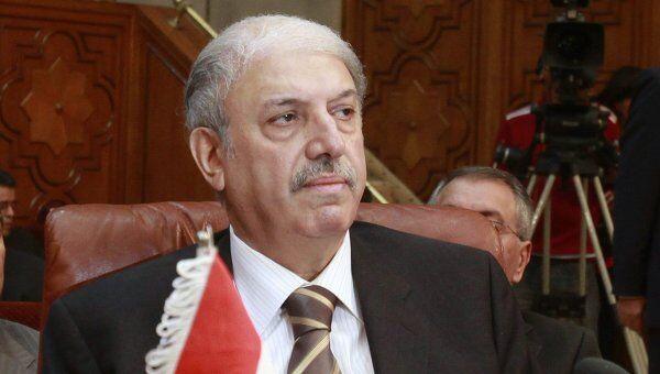 Представитель Сирии в Лиге арабских государств Юсуф Ахмед