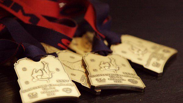 Медали чемпионата мира по боевому самбо