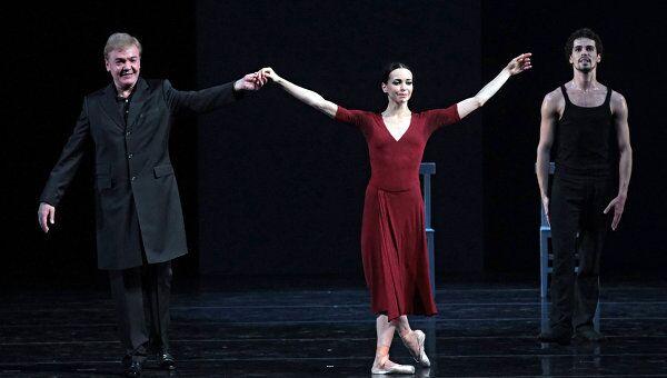 Премьера балета Диана Вишнева: Диалоги в Мариинском театре. Архив