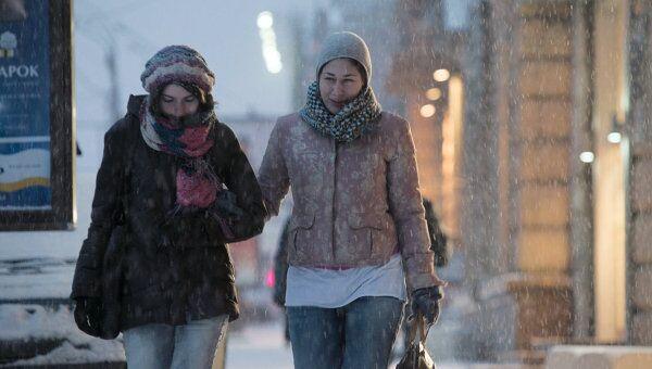 Снег в Москве. Архив