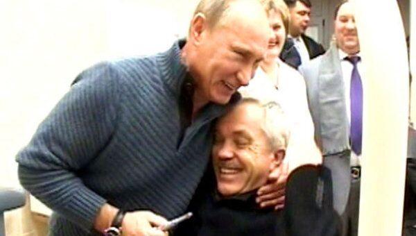 Путин напугал белгородского губернатора бормашиной