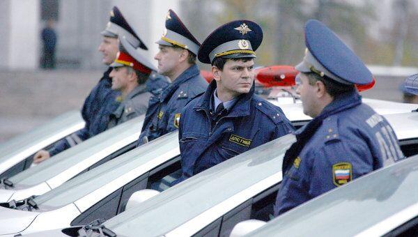 Сотрудники милиции. Архив