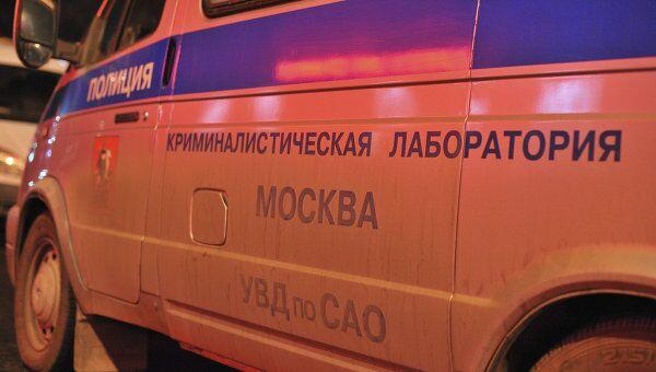 На месте убийства Руслана Ахтаханова в Москве